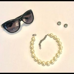 Carolee Faux Pearl Necklace